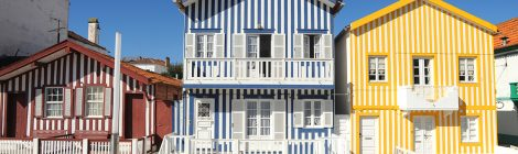 Aveiro - Typical Costa Nova Houses