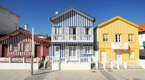 Aveiro - Typical Costa Nova Houses