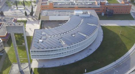 Universidade de Aveiro - Aerial View