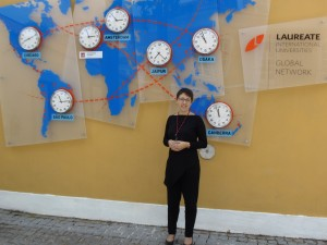 Irina Saur-Amaral | Laureate wall